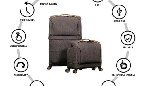 Rollux(ローラックス)の特徴まとめ。スーツケースにおすすめ!